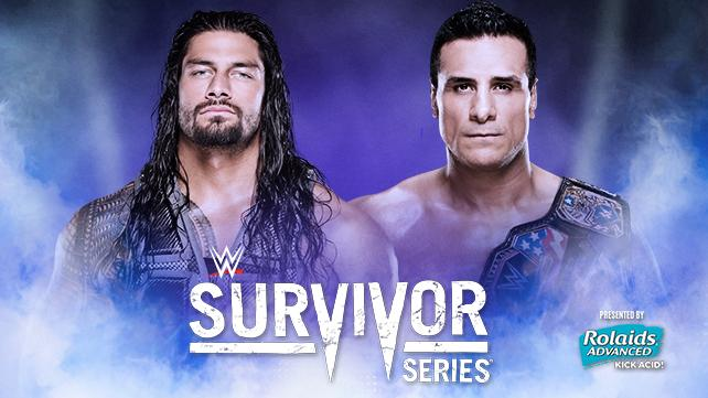 Roman Reigns vs. Alberto Del Rio (WWE World Heavyweight Championship Tournament Semifinals)