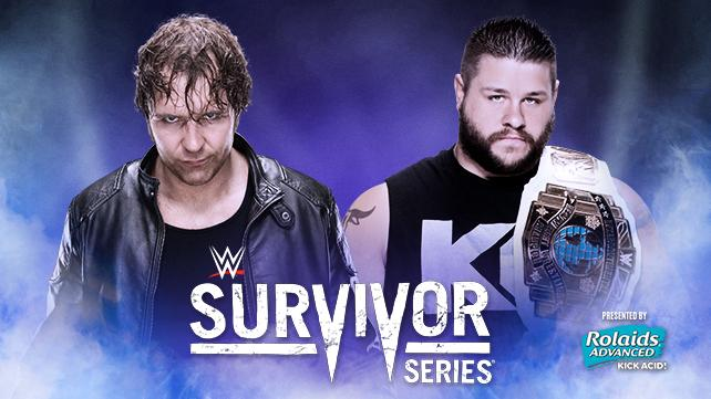 Dean Ambrose vs. Kevin Owens (WWE World Heavyweight Championship Tournament Semifinals)