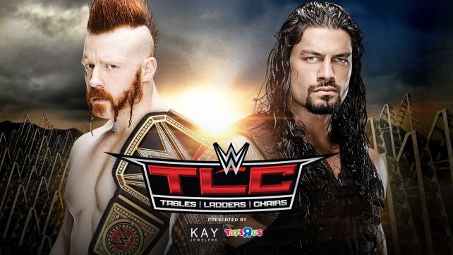 WWE World Heavyweight Champion Sheamus vs. Roman Reigns (Tables, Ladders & Chairs Match)