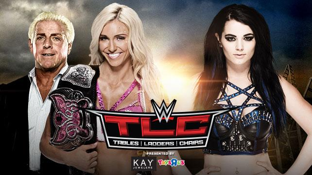 Divas Champion Charlotte w/ Ric Flair vs. Paige