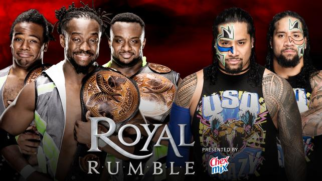 WWE Tag Team Champions The New Day vs. The Usos