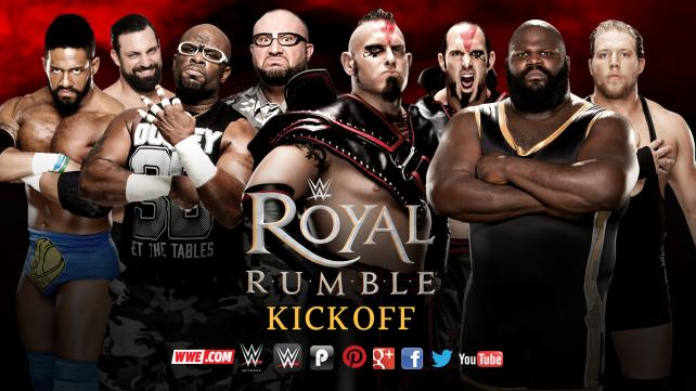 Darren Young & Damien Sandow vs. The Dudley Boyz vs. The Ascension vs. Mark Henry & Jack Swagger (Fatal 4-Way Kickoff Match to qualify for the Royal Rumble Match)
