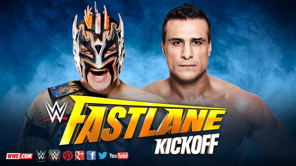 United States Champion Kalisto vs. Alberto Del Rio (2-out-of-3 Falls Match)