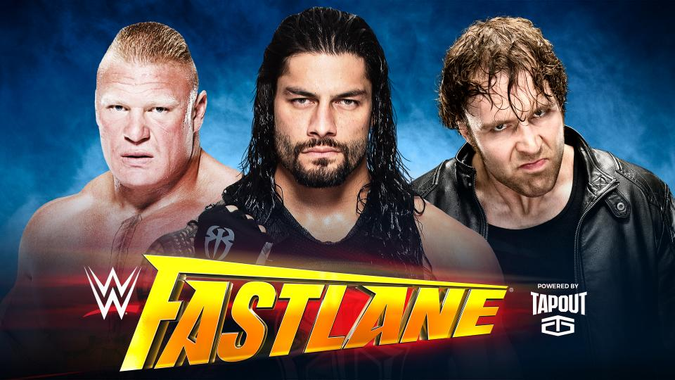 Dean Ambrose vs. Roman Reigns vs. Brock Lesnar (Triple Threat Match)