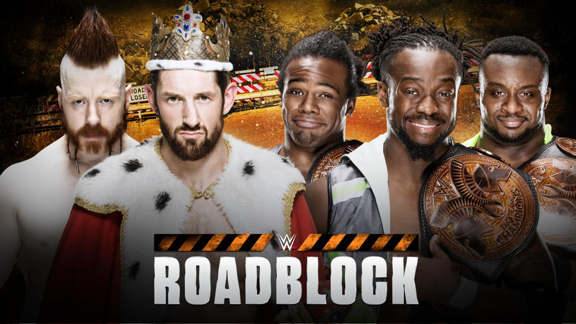WWE Tag Team Champions The New Day vs. The League of Nations' Sheamus & King Barrett