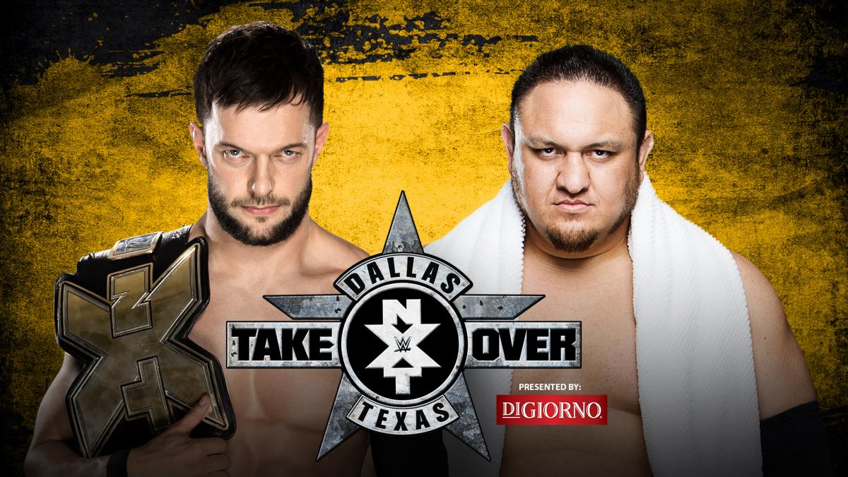 NXT Champion Finn Bálor vs. Samoa Joe