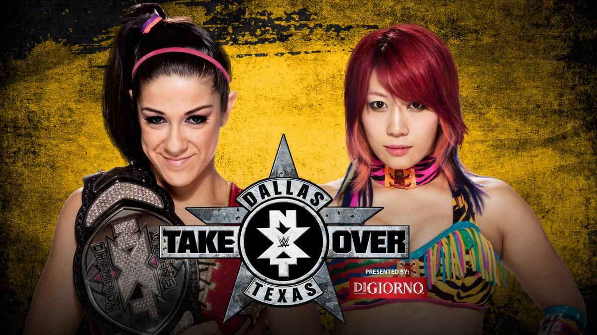 NXT Women's Champion Bayley vs. Asuka