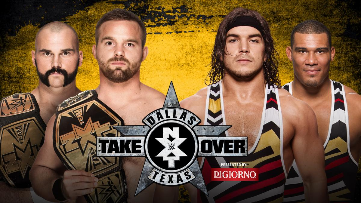 NXT Tag Team Champions The Revival vs. American Alpha
