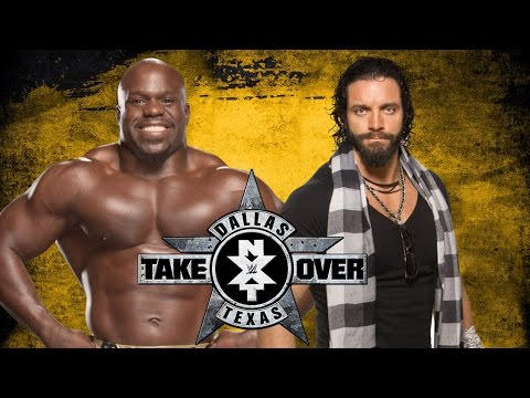 Apollo Crews vs. Elias Samson