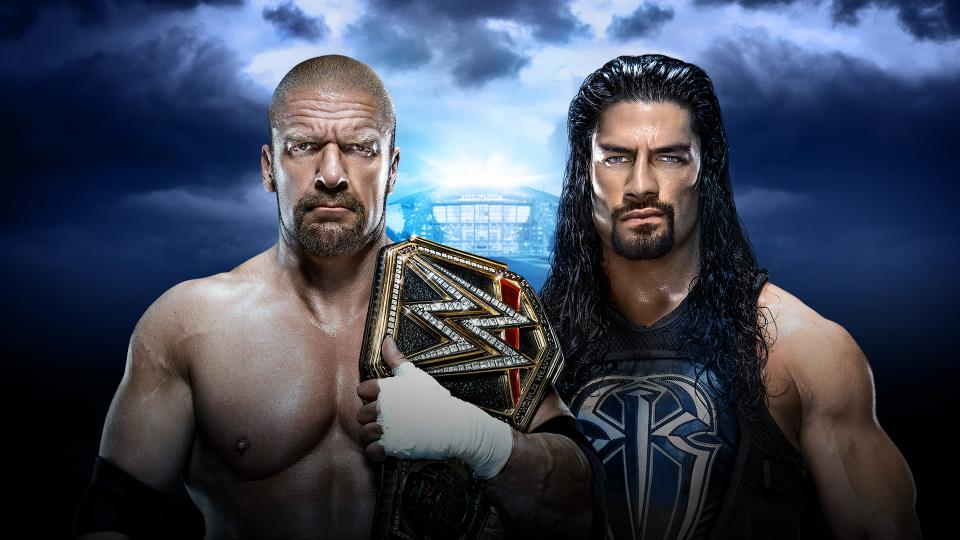 WWE World Heavyweight Champion Triple H vs. Roman Reigns