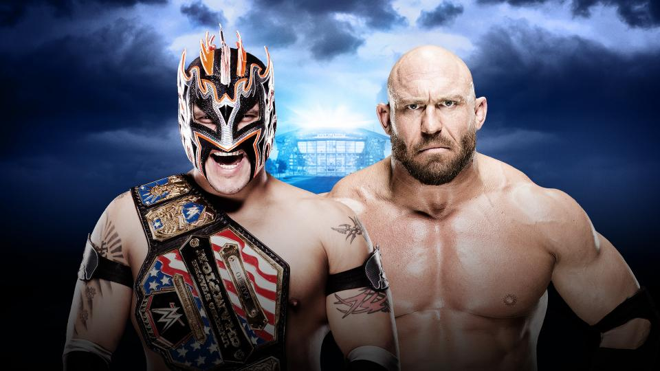 United States Champion Kalisto vs. Ryback