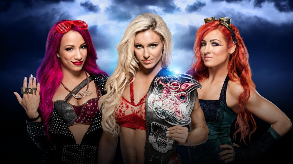 Divas Champion Charlotte vs. Becky Lynch vs. Sasha Banks (Triple Threat Match)