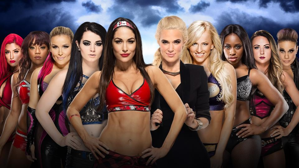 The Total Divas vs. B.A.D. & Blonde
