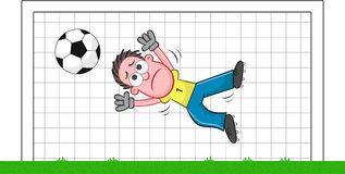 http://www.dreamstime.com/stock-image-cartoon-goalkeeper-sad-soccer-funny-leaping-to-save-ball-image35081421