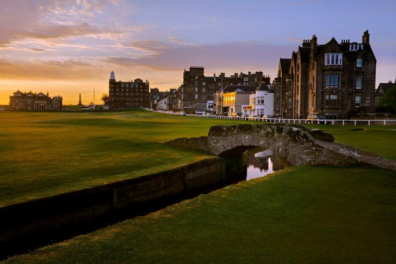 St. Andrews Swilcan Bridge Old Course