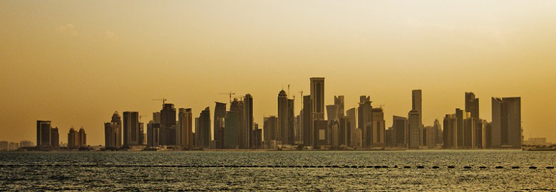 skyline_of_qatar