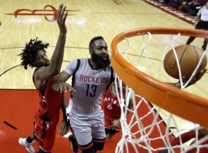 Lucas Nogueira, James Harden