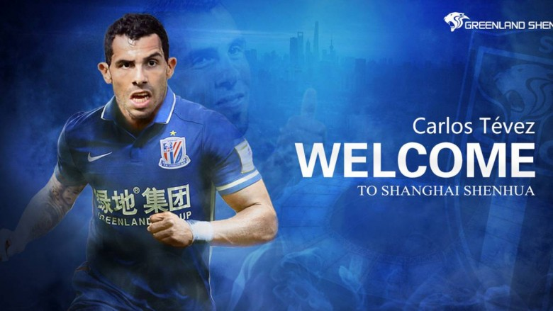 Tévez en China