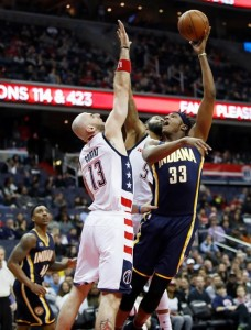 pacers - wizards