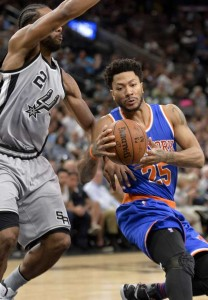 knicks - spurs