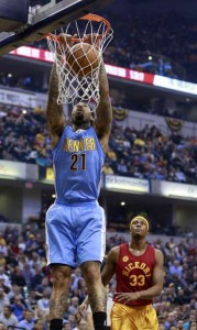 nuggets - pacers