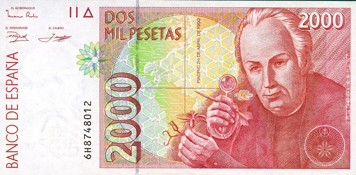 Billete 2000 pesetas