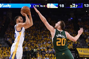 NBA: Playoffs-Utah Jazz at Golden State Warriors
