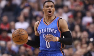 USP NBA: OKLAHOMA CITY THUNDER AT TORONTO RAPTORS S BKN TOR OKC CAN ON