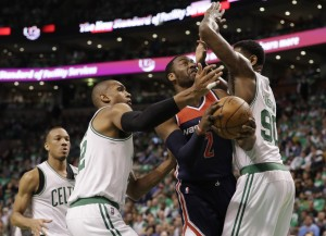 NBA: Playoffs-Washington Wizards at Boston Celtics