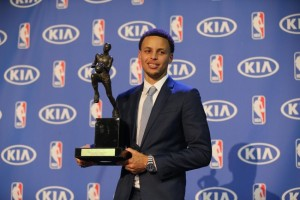 NBA: Stephen Curry MVP Press Conference