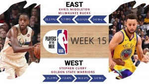 Player of the Week 15
