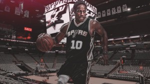 DeMar DeRozan Spurs (cartel)